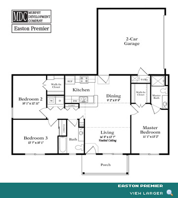 Floor Plan Easton Premier Cobbleton Grove Luxury Condominium