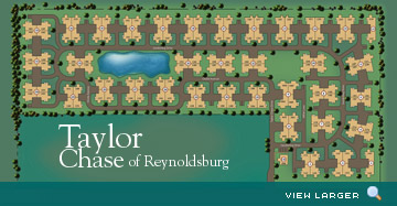 Taylor Chase of Reynoldsburg Luxury Condo's Site Map
